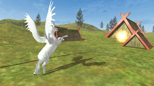 Flying Unicorn Simulator Free screenshot 8