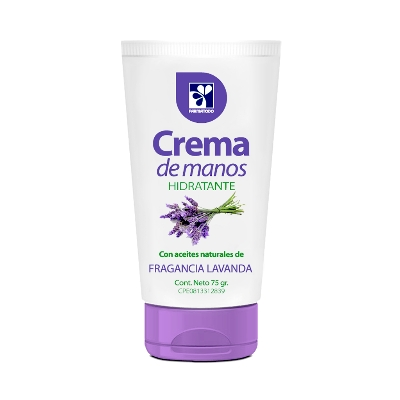 Crema Farmatodo Manos Lavanda 75Ml