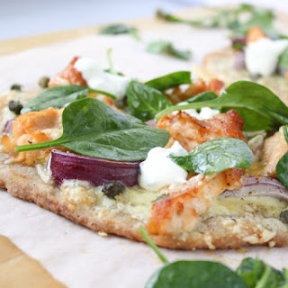 Flatbread With Smoked Salmon