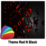 Theme - Red N Black Icon