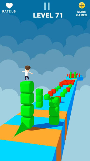 Cube Tower Stack Surfer 3D - Race Free Games 2020 filehippodl screenshot 6