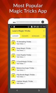Learn Magic Tricks Videos - náhled