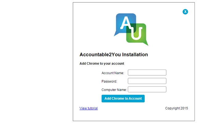 Accountable2You School Edition chrome extension