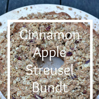 Cinnamon Apple Streusel Bundt Cake