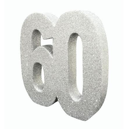 Bordsdekoration 60 silver