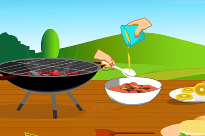 android Girls Cooking-Burger Screenshot 5