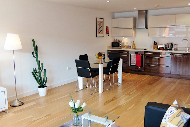 living space at Ruislip Apartments