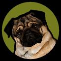Pugzie Cute Pug Live Wallpaper icon