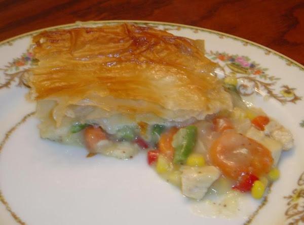 Flaky Chicken Pot Pie Recipe