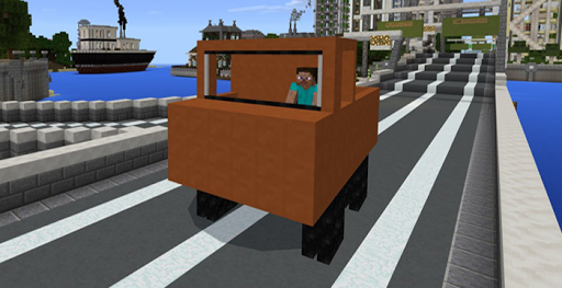 Mod Transport for MCPE 1.0 screenshots 1