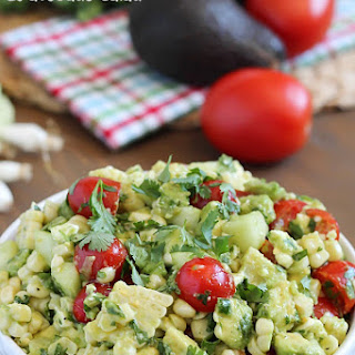 Grilled Corn & Avocado Salad