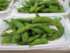 Photo: そしてサイドメニューには江田豆をどうぞ。