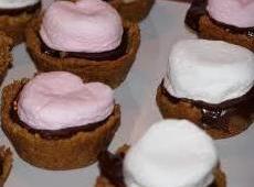 Chocolate Caramel S'more Cups-annette's Recipe