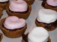 Chocolate Caramel S'more Cups-annette's
