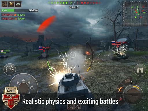 Battle Tanks: Legends of World War II cheat screenshots 1