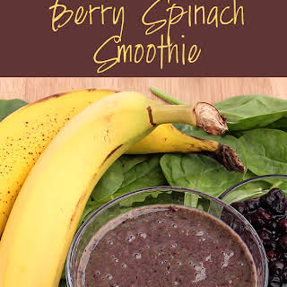 Berry Spinach Smoothie.
