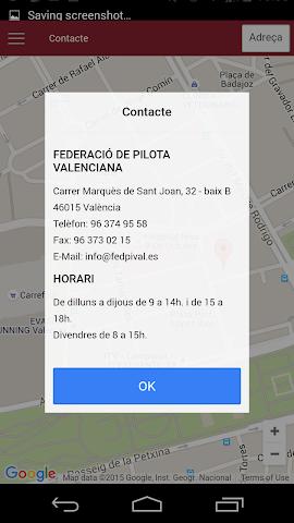 android Federació de Pilota Valenciana Screenshot 0