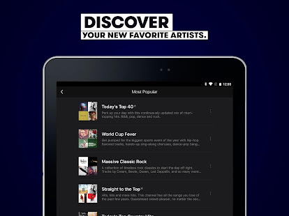App Stingray Music - Curated Radio & Playlists APK for Windows Phone