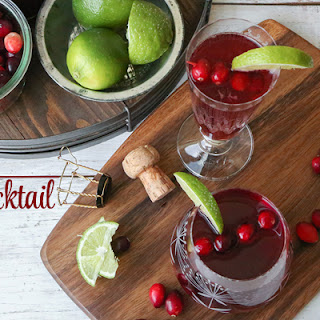 Sparkling Cranberry Cocktail.