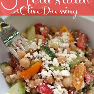 Tomato, Cucumber, Feta Salad