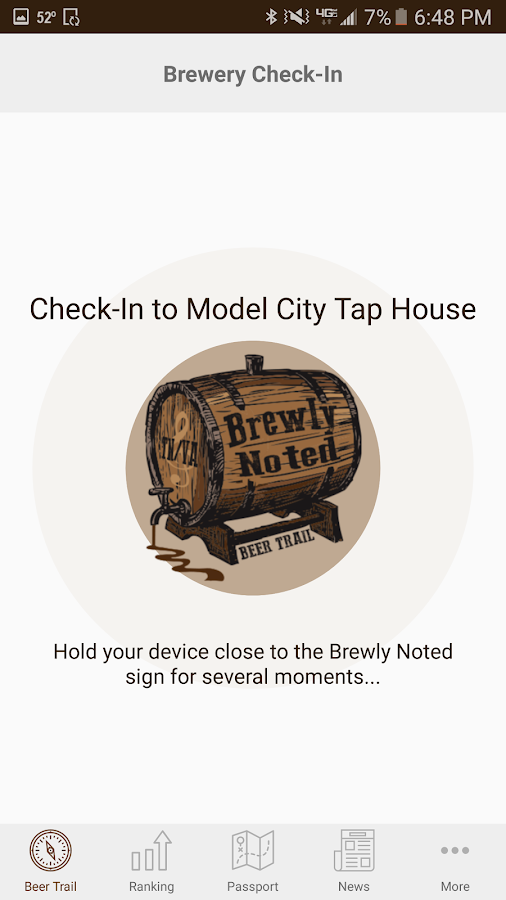 Brewly Noted Beer Trail- screenshot