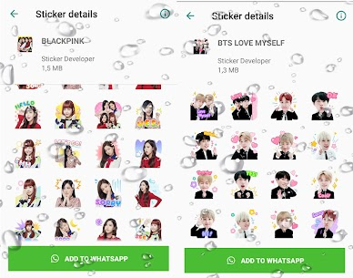 WAStickerApps Korean Idol Sticker for WhatsApp Download For Android 6