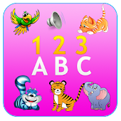 Animal Sounds ABC 123 For Kids