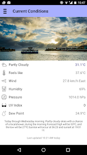 Curaçao Weather- screenshot thumbnail