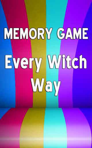 Every Witch Way - Memory Games