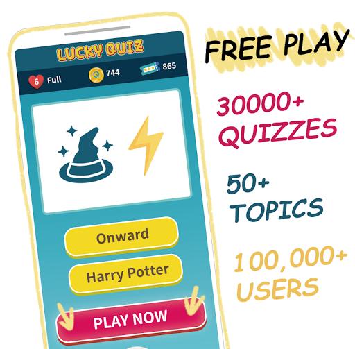 Trivia game & 30k+ quizzes, free play - Lucky Quiz 1.598 screenshots 1