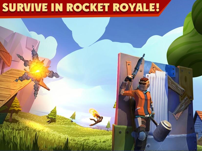 Rocket Royale Android App Screenshot