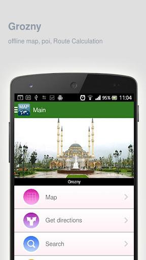 Grozny Map offline