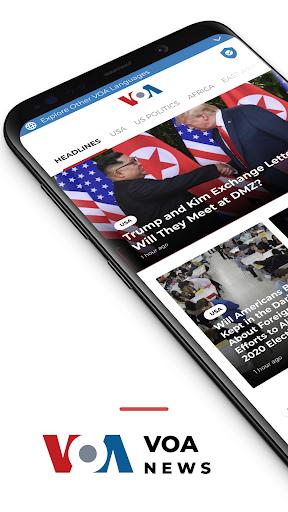 VOA News 4.1.5 Screenshots 1