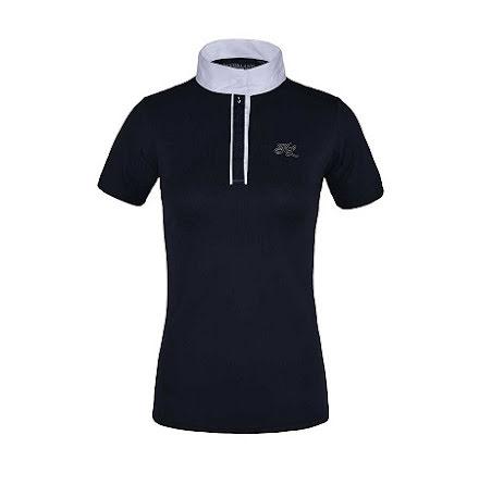 Klanthea Ladies SS Show Shirt Navy