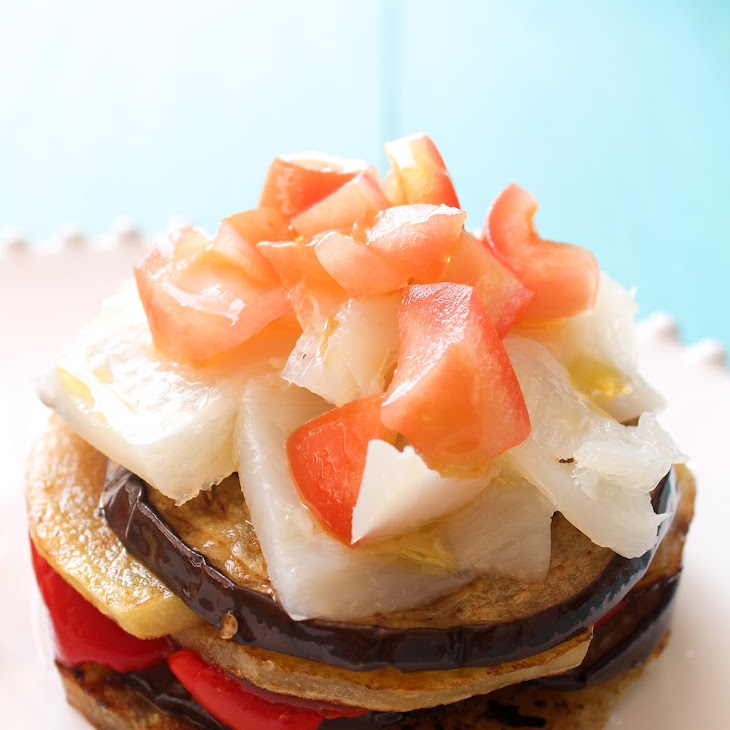 Mallorcan Eggplant Bake with Cod Recipe