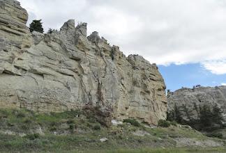 Photo: White Cliffs near Eagle Creek - RM 55.7