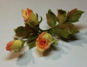 Photo: Мелкие розы в японской технике