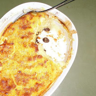 Oven Baked Rice Pudding.