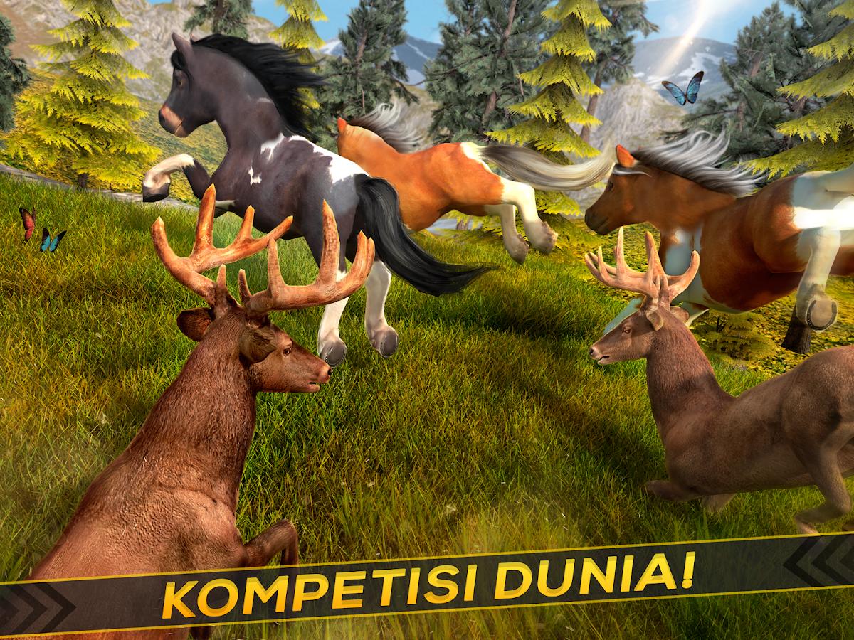 Kuda Poni Balap Hewan Lucu Apl Android Di Google Play