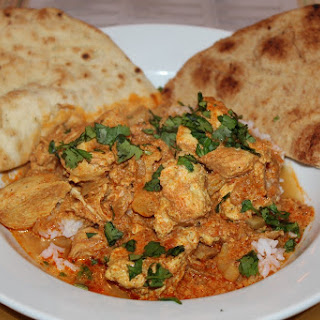 Chicken & Cauliflower Tikka Masala with Basmati Rice & Naan