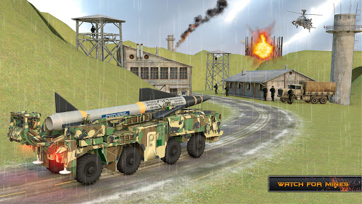 US Army Missile Attack : Army Truck Driving Games  screenshots 2