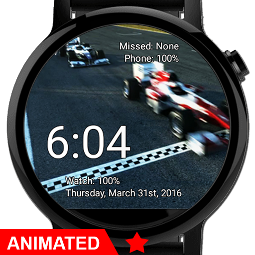 Watch Face Race Cars Wallpaper Aplicaciones (apk) descarga gratuita para Android/PC/Windows