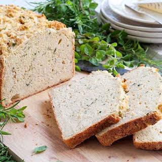 Gluten Free Falafel Bread.