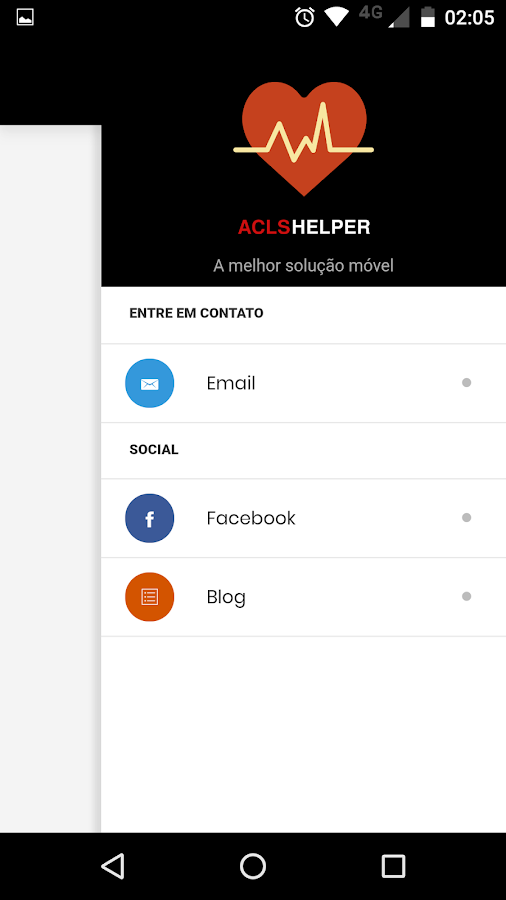 ACLS Helper- screenshot