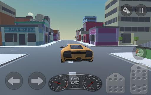 超級跑車城市駕駛