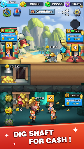 Digger To Richesuff1a Idle mining game screenshots 2