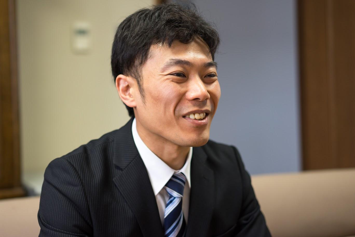 森岡俊行さん