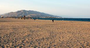 El Playazo, playa naturista de Vera.