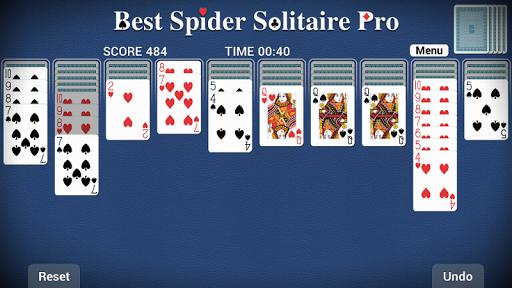 Best Spider Solitaire Pro