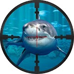 Underwater Shark Sniper Hunter Icon